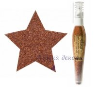 Глиттер-пудра в ручке-флаконе Cadence Glitter Powder Pen цвет Оранжевый, 10 гр